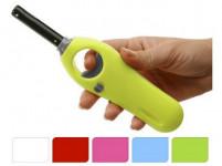 zapalovač 22cm plamínkový, dětská pojistka - mix barev