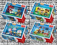 Minipuzzle 54 dílků Paw Patrol/Tlapková Patrola 4 druhy