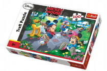 Puzzle Mickey 100 dílků 41x27,5cm