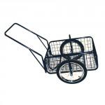 vozík PEGAS, komaxit, 450x640x280(1320) mm, nosnost 100kg
