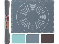 vál 50x40cm, měřítkový reliéf, silikon - mix barev