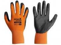 rukavice NITROX ORANGE nitril 9