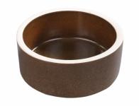 Krmítko keramické hnědé d24cm