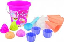 Sada na písek zmrzlina + cup cake