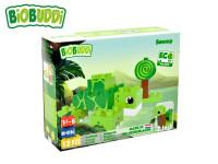 BiOBUDDi stavebnice Wildlife Swamp 2 v1 želva/šnek 12 ks