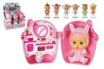 Cry Babies mini Magic Tears plast 11cm miminko ronící slzy v plastové krabičce
