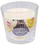 Svíčka sklo - aroma vanilka 160 g - 4 ks