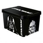 box úložný STAR WARS 40x30x23cm (L) s víkem, plastový